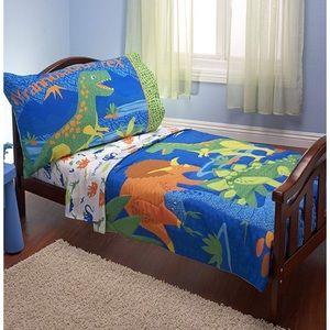 Toddler Dino Bedding Set